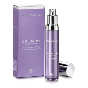 Bruno Vassari Cell Active Restorative Fluid Day Cream - Soós Ágnes kozmetikus
